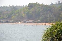 Gokarna海滩 免版税库存图片