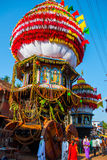 Gokarna,卡纳塔克邦,印度 西瓦默西-马哈巴莱斯赫瓦尔lingam 免版税库存照片