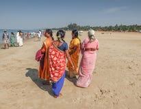 Gokarna,卡纳塔克邦/印度Febuary第1,2018年 库存照片