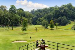 Gokarna forest golf club in Kathmandu Nepal Royalty Free Stock Photos
