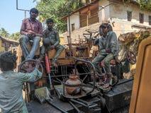 GOKARNA, il KARNATAKA INDIA-FEBUARY quinto, 2018 fotografia stock libera da diritti