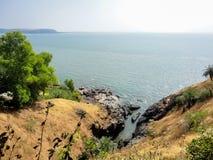 Gokarna, India. Coast at the Gokarna, India stock images