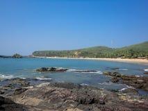 Gokarna, India. Coast at the Gokarna, India stock photo