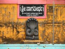 Gokarna India straten van de oude Indische stad Stock Foto's