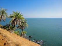 Gokarna, India. View at the coast in Gokarna, India stock photo