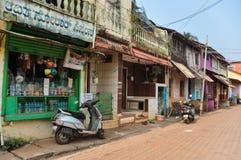 Gokarna in Indien stockfotos