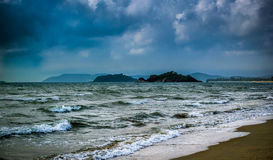 Gokarna strand Arkivbild