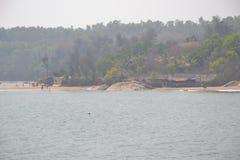 Gokarna strand Royaltyfria Bilder