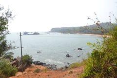 Gokarna strand Fotografering för Bildbyråer
