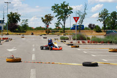 Gokart Race Stock Photography
