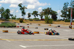 Gokart Race Stock Images