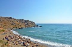 Пляж на Gokceada Стоковое Фото