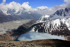Gokio lake. Himalayas, Nepal. Everest region of Himalaya mountains. Nepal stock images