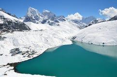Gokiomeer in Nepal royalty-vrije stock afbeelding