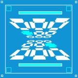 Gokkenachtergrond van rechthoekenvector Royalty-vrije Stock Fotografie