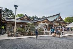 Gokoku-Schrein Stockfotografie