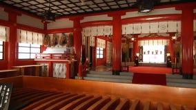 Gokoku Shinto shrine, Sendai, Japan stock video footage