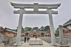 Gokoku Shrine in Hiroshima, Japan Royalty Free Stock Images