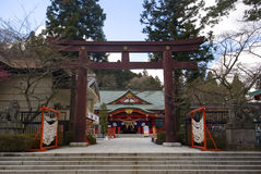 Gokoku Shrine, Sendai, Japan Stock Images