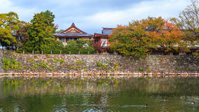 Gokoku Shrinein Hiroshima Castle Royalty Free Stock Photo