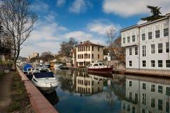 Goksu河在伊斯坦布尔 免版税库存照片