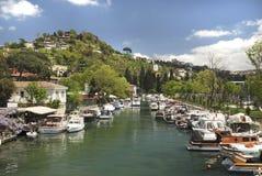 Goksu Nebenfluss, Istanbul, die Türkei Lizenzfreies Stockfoto