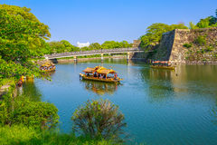 Gokuraku Bridge Osaka Royalty Free Stock Photo