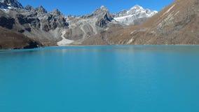 Gokyo湖在喜马拉雅山 影视素材