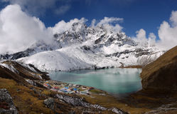 Gokyo lake Royalty Free Stock Photos