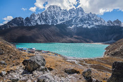 Gokyo Lake. And Himalayas, Nepal Stock Image
