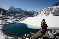 Gokyo Lake - Nepal Stock Photo