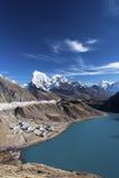 Gokyo Ri - vue de NO3 de lac images stock