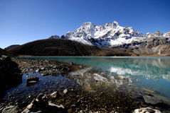 Gokyo Sacred Lake Stock Photography