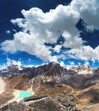 Gokyomeren in Nepal stock afbeelding