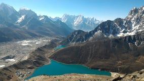 Gokyomeren, Nepal royalty-vrije stock foto