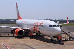 Gol Airline, Brasil Imagens de Stock