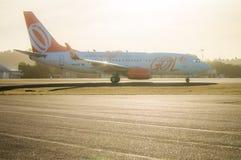 Gol Airlines Airplane lizenzfreies stockbild