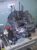 Gol 1 del motor 6 AR Volkswagen Imagen de archivo