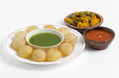 Gol Gappa Royalty Free Stock Photos