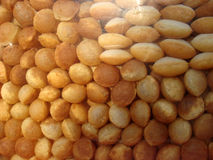 Gol gappe or pani puri in stall. At street market Stock Photography