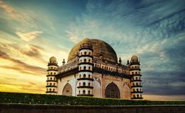 Gol Gumbaz, Bijapur-Images stock photography