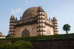 Gol Gumbaz, Bijapur, India foto de stock royalty free