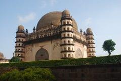 Gol Gumbaz, Bijapur, Indien Lizenzfreies Stockfoto