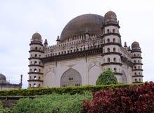 Gol Gumbaz est le mausolée d'Adil Shah Image libre de droits
