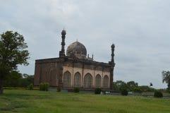 Gol Gumbaz-moskee, Bijapur, Karnataka stock fotografie