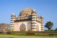 Gol Gumbaz mosque Royalty Free Stock Image