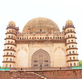 Gol gumbaz palace and  mausoleum bijapur Karnataka india Royalty Free Stock Photos