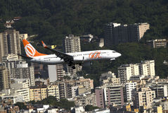 GOL luchtvaartlijnen, Rio de Janeiro, Brazilië Stock Foto's