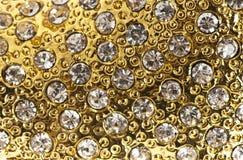 Gol mit Juwelen Stockbilder