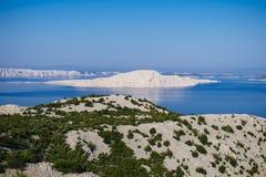 Gol otok - Naga wyspa Zdjęcia Stock